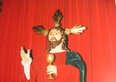 Imagen antigua de la Santa Cena