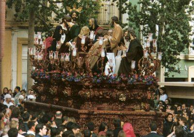 Misterio de la Santa Cena en su salida de 2002