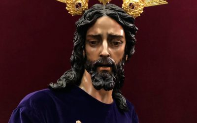 El Señor de la Cena, vestido para Cuaresma