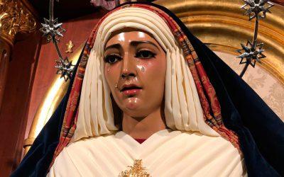 La Virgen de Fe y Caridad, de hebrea