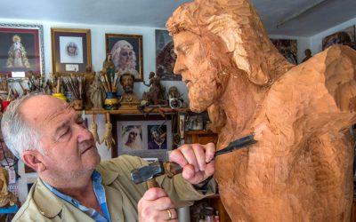Fallece don Luis Álvarez Duarte, autor de la Virgen de Fe y Caridad
