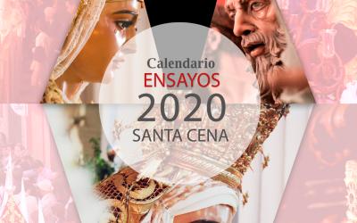 Calendario de ensayos de costaleros 2020