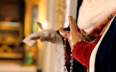 La Virgen de Fe y Caridad, vestida de hebrea para la Cuaresma de 2020
