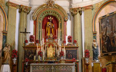 El Señor de la Cena, en el Altar Mayor de San Pedro