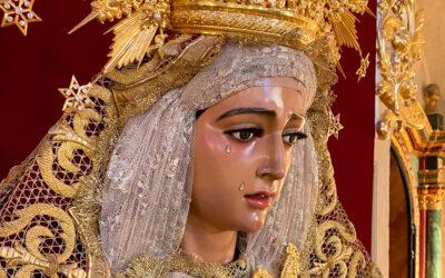 María Santísima de Fe y Caridad preside el altar para su Solemne Triduo