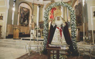 Galería y vídeo de la devota veneración a la Virgen de Fe y Caridad por su XXX Aniversario