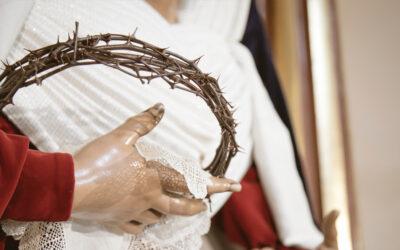 María Santísima de Fe y Caridad, vestida de hebrea para la Cuaresma de 2021