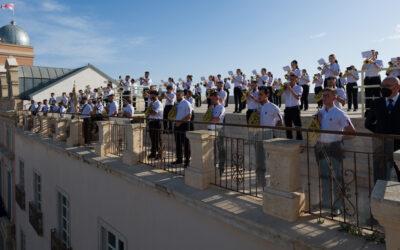 Concierto de la BCT Carmen de Almería por el Triduo al Señor de la Cena (Vídeo y galería)