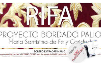 II Rifa pro palio de Mª Stma. de Fe y Caridad – SONY PLAYSTATION 5